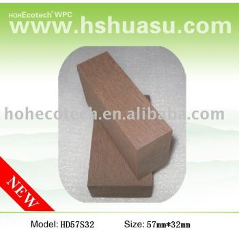 Top quality wpc flooring board,copper brown