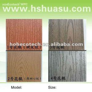 Deep registered embossed wood grain flooring (CE RoHS ISO9001 ISO14001)