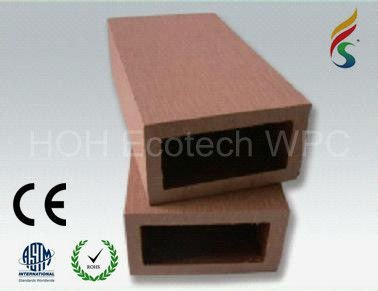 wpc fencing material