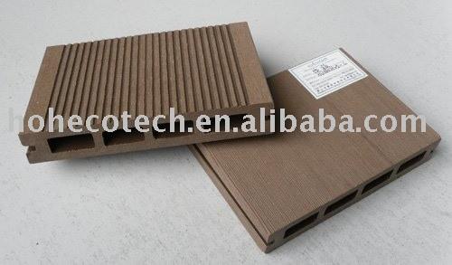 Huasu madera decking compuesto plástico - - iso14001/iso9001