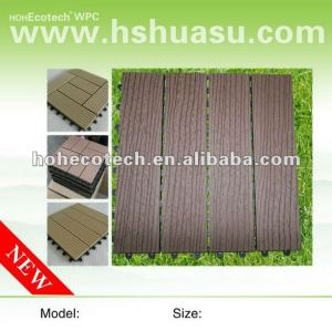 Telhas diy anticorrosivas compostas plásticas de madeira
