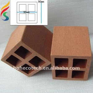 wpc post, wood plastic composite