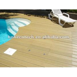 Popular outdoor wood pool decking (CE RoHS ISO9001 ISO14001)