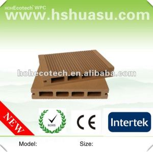 2012 new price wood plastic composite decking board(CE ROHS)