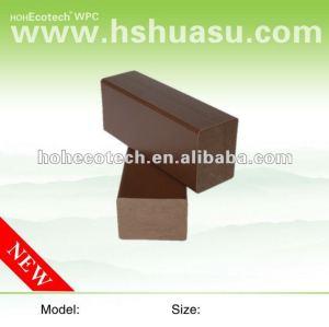 de alta calidad de plástico de madera decking compuesto de vigueta