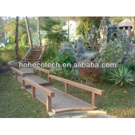 Composite deck covering material