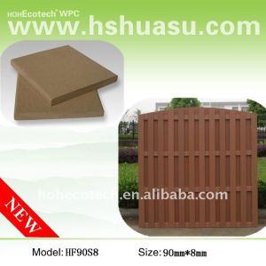 Wood plastic composite material Fencing