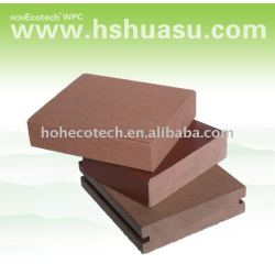 熱い- 木材プラスチック固体デッキ床