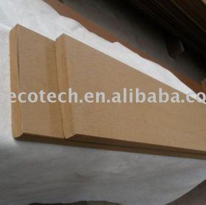 couleur pleine composée en plastique en bois en bois de decking/plancher