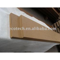 木製のプラスチック合成の固体deckingまたは床木色