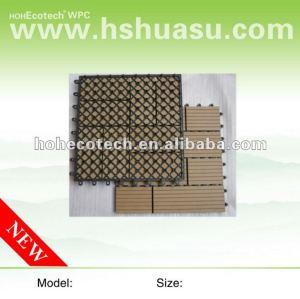 Telha da plataforma tile/DIY de WPC/telha composta plástica de madeira do decking