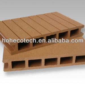 wood composite engineered decking board/ outdoor decking flooring