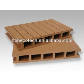 wood composite engineered decking board/ outdoor decking flooring