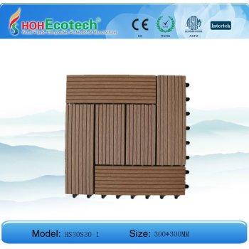 WPC tiles (interlocking)