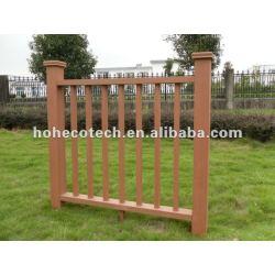 高い再生利用できるおよび防水wpc (木製のプラスチック合成物)のwpc階段柵または庭の柵または運動場の柵または監視柵
