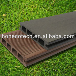 (CE,ISO,Intertek,ROHS,SGS approved)composite patio decking board