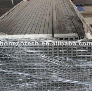 Decorativi pavimenti in legno artificiale/forati tipo piano decking di wpc