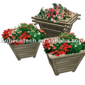 сад деревянный пластичный составной цветок поле