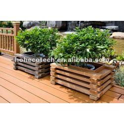 庭の装飾の屋外の防水wpcの花箱
