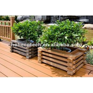 Garden decoration outdoor waterproof wpc flower box
