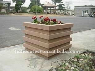 waterproof Flower box wpc plastic WPC flooring/decking composite decking