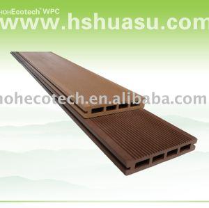plancher de composé de plancher de decking de wpc de huasu