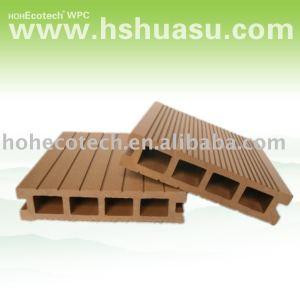 decking/plancher/tuile composés en plastique en bois extérieurs