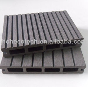 Anhui Ecotech WPC hollow outdoor decking 147*23mm CE Rohus ASTM ISO 9001 approved