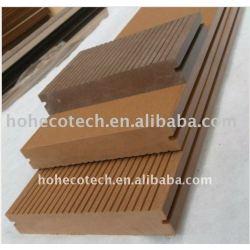 138*23mmWPC木製のプラスチック合成のdeckingまたはフロアーリング(セリウム、ROHS、ASTM、ISO 9001、ISO 14001、Intertek)のwpcの床板のデッキ木