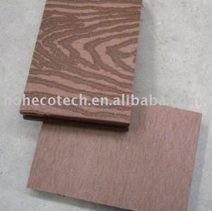 plate-forme extérieure gravante en refief de wpc (le bois aiment)