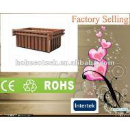 の外装飾の環境に優しいwpcの庭の花箱か植木鉢(セリウムRoHS)