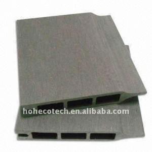 Decking de wpc/placa de revestimento wpc placas de madeira decking composto plástico piso wpc bordo