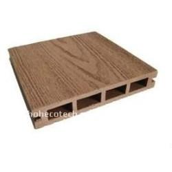 環境に優しいWPCのdeckingは木製のプラスチック合成のフロアーリングのwpcのdeckingをタイルを張る