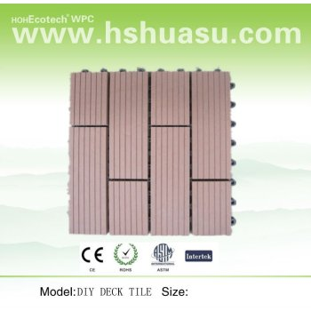 Sauna Decking Tiles 30x30cm