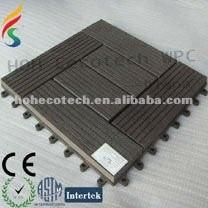 Vente chaude ! tuile composée en plastique en bois de plate-forme de bonne conception (avec des certificats)