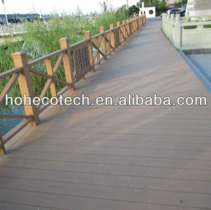 UV resistant Outdoor wpc co-extrusion decking wpc composite decking