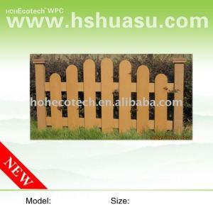clôtures de jardin wpc