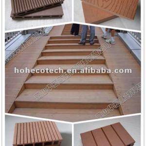 High strength waterproof wpc(plastic wood composite) decking floor