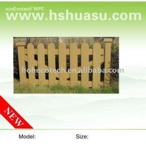 WPC hotsale garden fencing
