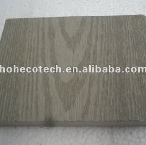 100% recycled wpc outdoor solid decking (wpc flooring/wpc wall panel/wpc leisure products)