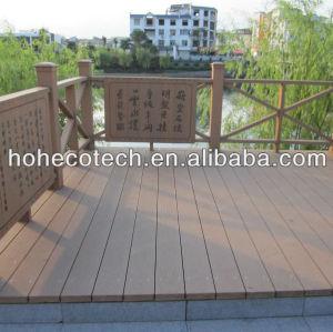 Co-extrusion WPC decking plastic composite decking/flooring