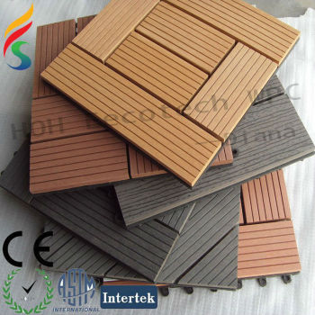 hot sell wpc swimming pool deck tiles