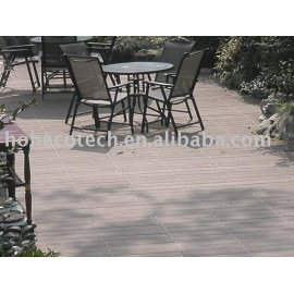 WPC(Wood Plastic Composites) Flooring For outdoors cafe using