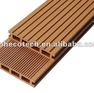 Vente chaude ! panneau de plancher réutilisé par 100% de wpc (preuve de l'eau, résistance UV, résistance à se décomposer et fente)