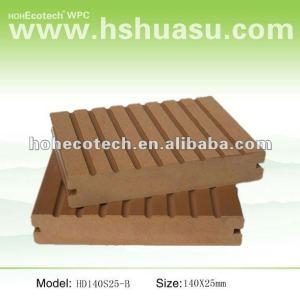 Villa/hotel hotel mobili! Wpc piano di calpestio in legno decking composito di plastica/pavimentazione/decking composito/pavimenti- anti- fungo