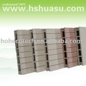 wpc decking/outdoor composite floor/wood plastic flooring