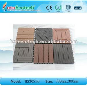 Huasu wpc composito decking pavimentazione piastrellediceramica/mattonelle diy//stanzadabagno piastrella/sauna bordo