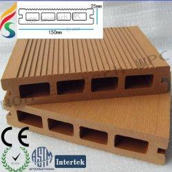 生態学的な木製のプラスチック屋外のdecking