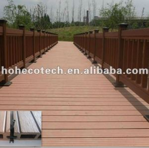 Natural wood looking Plastic Lumber WPC Decking/flooring