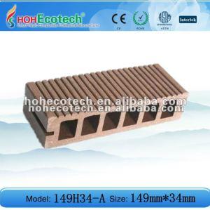 Decking del wpc piso al aire libre utilizando - material de construcción